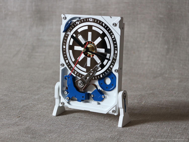 Часы из жёсткого диска №15 (Звёздные войны-R2D2), Часы, Москва,  Фото №1