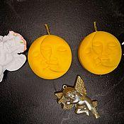 Свечи ручной работы. Ярмарка Мастеров - ручная работа Свечи из натурального пчелиного воска. Handmade.