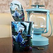 Сувениры и подарки handmade. Livemaster - original item Alice and all the comb in a Cup. Handmade.