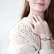 Украшения handmade. Livemaster - original item Bracelet with fluorite Mix. Handmade.