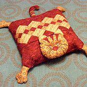 """Подушки ручной работы. Ярмарка Мастеров - ручная работа Подушка-игрушка """" Кот"""". Handmade."""