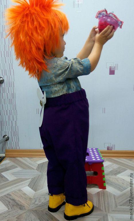 Детские карнавальные костюмы ручной работы. Ярмарка Мастеров - ручная работа. Купить Карлсон. Handmade. Разноцветный, Праздник, габардин