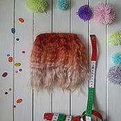 Материалы для творчества ручной работы. Ярмарка Мастеров - ручная работа Кукольные волосы (трессы для кукол). Handmade.