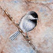 Картины и панно ручной работы. Ярмарка Мастеров - ручная работа картина пастелью Иней. Handmade.
