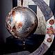 Новый год 2017 ручной работы. Интерьерный  шар. Lila Abil Krivi. Интернет-магазин Ярмарка Мастеров. Новогодний сувенир, Декор