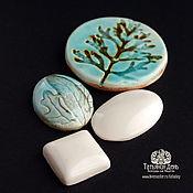 Материалы для творчества handmade. Livemaster - original item A set of ceramic dome number №5