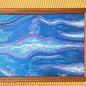 Картины и панно handmade. Livemaster - original item The kiss of the sea.From the Blue sea. Handmade.