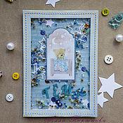 Открытки handmade. Livemaster - original item Postcard - shaker. Handmade.