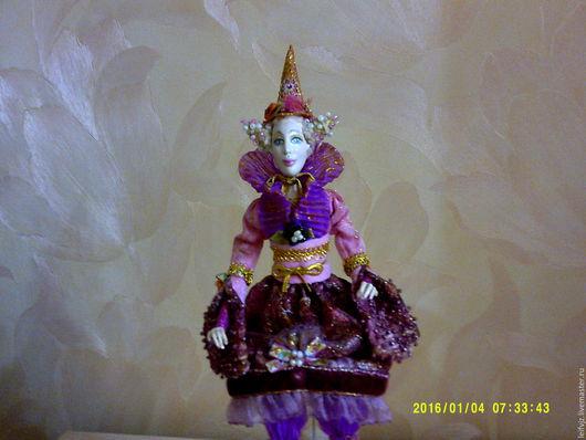 Коллекционные куклы ручной работы. Ярмарка Мастеров - ручная работа. Купить Фея Розовая радость. Handmade. Розовый, украшение для интерьера