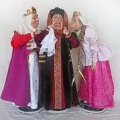 Куклы и игрушки ручной работы. Ярмарка Мастеров - ручная работа Повариха и ткачиха.сватья баба бабариха. Handmade.