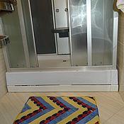 Для дома и интерьера ручной работы. Ярмарка Мастеров - ручная работа Коврик для ванной комнаты. Handmade.