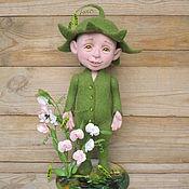 Куклы и игрушки ручной работы. Ярмарка Мастеров - ручная работа Зеленый горошек. Handmade.