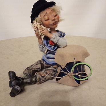 Dolls & toys handmade. Livemaster - original item Dolls: Gelsomina and Melody of the heart. Handmade.