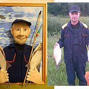 Куклы и игрушки ручной работы. Ярмарка Мастеров - ручная работа Подарок мужчине рыбаку. Handmade.