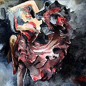 Картины и панно ручной работы. Ярмарка Мастеров - ручная работа Танцовщица фламенко. Handmade.