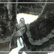 """Аксессуары ручной работы. Ярмарка Мастеров - ручная работа Норковый воротник  """"Примадонна`. Handmade."""