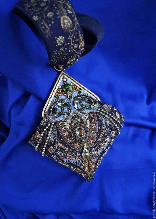 Женские сумки ручной работы. Ярмарка Мастеров - ручная работа. Купить В Синем Море. Handmade. Тёмно-синий, сказка