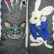 "Обувь ручной работы handmade. Livemaster - original item Boots ""Alice in Wonderland"". Handmade."