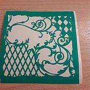 Материалы для творчества handmade. Livemaster - original item Copy of Copy of Copy of stencils adhesive. Handmade.