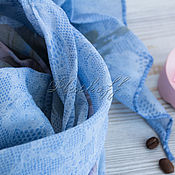 Аксессуары handmade. Livemaster - original item Stole -a-line made of Italian fabric with lace print. Handmade.