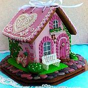 Сувениры и подарки handmade. Livemaster - original item Gingerbread house wedding. gingerbread box.. Handmade.
