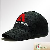 Аксессуары handmade. Livemaster - original item Baseball cap fullprint ATHLETICS. Handmade.