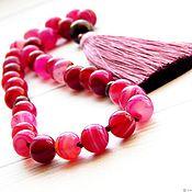 Фен-шуй и эзотерика handmade. Livemaster - original item Beads of Crimson dreams of agate. Handmade.