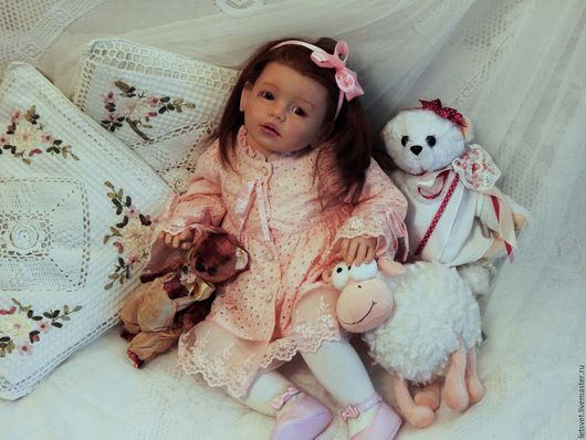 Куклы-младенцы и reborn ручной работы. Ярмарка Мастеров - ручная работа. Купить Isabella by Regina Swialkowski. Handmade. Комбинированный