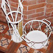 Для дома и интерьера ручной работы. Ярмарка Мастеров - ручная работа Каминный набор Белый стиль. Handmade.
