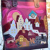 "Сумки и аксессуары handmade. Livemaster - original item Сумка-пакет ""Новое утро"".. Handmade."
