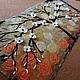 """Картины цветов ручной работы. Заказать Панно """"Цветущее дерево"""". Макарова Оксана (sanzharka). Ярмарка Мастеров. Дерево, панно на стену"""