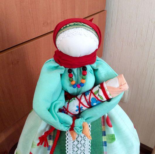 """Народные куклы ручной работы. Ярмарка Мастеров - ручная работа. Купить Народная кукла """"Материнство"""". Handmade. Народная кукла, ленты"""