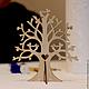 Элементы интерьера ручной работы. Декоративное дерево, разные силуэты. BUDDHA CAT. Ярмарка Мастеров. Фанера, 3Д