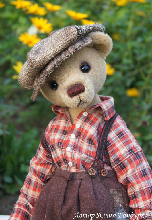 Мишки Тедди ручной работы. Ярмарка Мастеров - ручная работа. Купить Ивашка. Handmade. Бежевый, альпака
