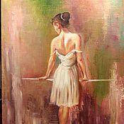 Картины и панно ручной работы. Ярмарка Мастеров - ручная работа Балерина. Handmade.