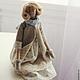 Куклы Тильды ручной работы. Мэри встречает весну. Vera Lu Handmade. Интернет-магазин Ярмарка Мастеров. Лен