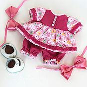 Куклы и игрушки ручной работы. Ярмарка Мастеров - ручная работа Наряд для вальдорфской куклы. Handmade.