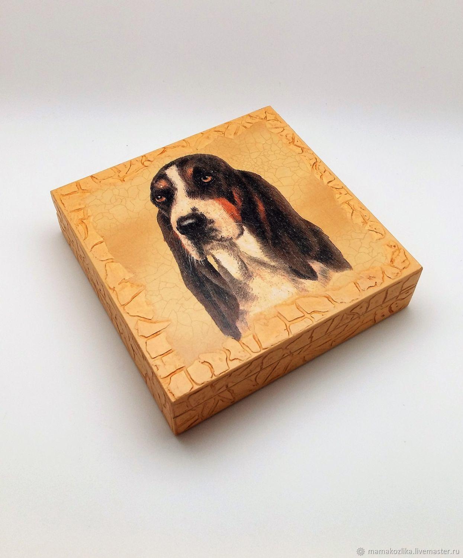 """Шкатулочка-купюрница """"Собака друг человека"""" – купить на ..."""