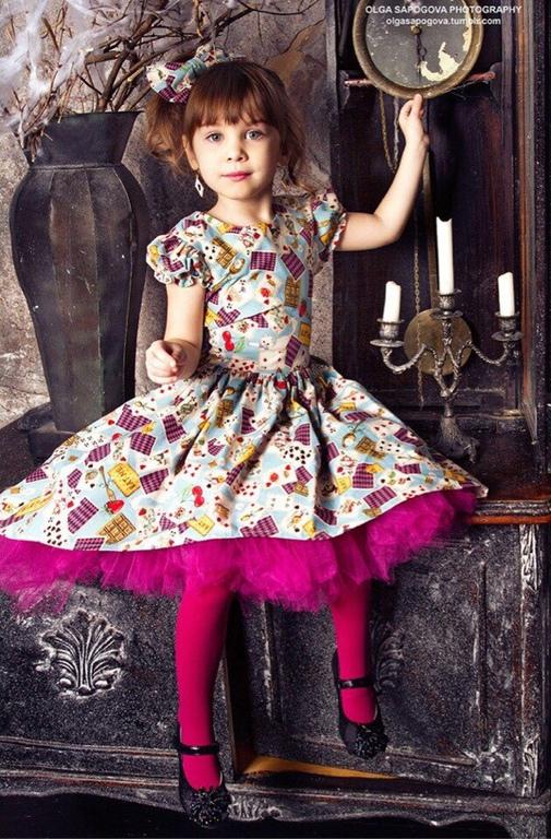 """Одежда для девочек, ручной работы. Ярмарка Мастеров - ручная работа. Купить Платье для девочки """"Алиса"""". Handmade. Платье, платье для девочки"""