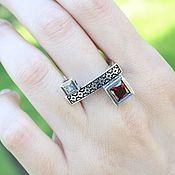 Украшения handmade. Livemaster - original item Modern 8 ring made of 925 sterling silver DD0113. Handmade.