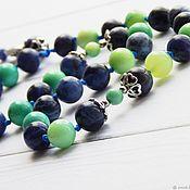 Фен-шуй и эзотерика handmade. Livemaster - original item Relax the beads of sodalite and opal. Handmade.