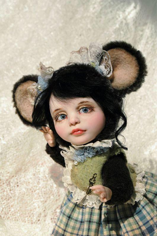 Мишки Тедди ручной работы. Ярмарка Мастеров - ручная работа. Купить Мышка. Handmade. Темно-серый, тедди, авторская кукла
