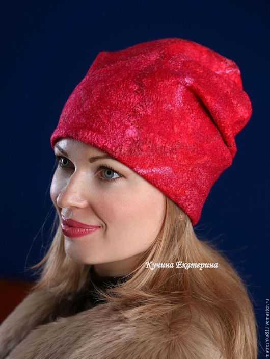 Шапки ручной работы. Ярмарка Мастеров - ручная работа. Купить Шапка валяная..женская.... Handmade. Шапка шапка шапка