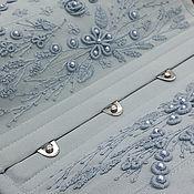 """Одежда ручной работы. Ярмарка Мастеров - ручная работа Корсет шелковый """"Версаль -3"""" подгрудный ручная вышивка. Handmade."""