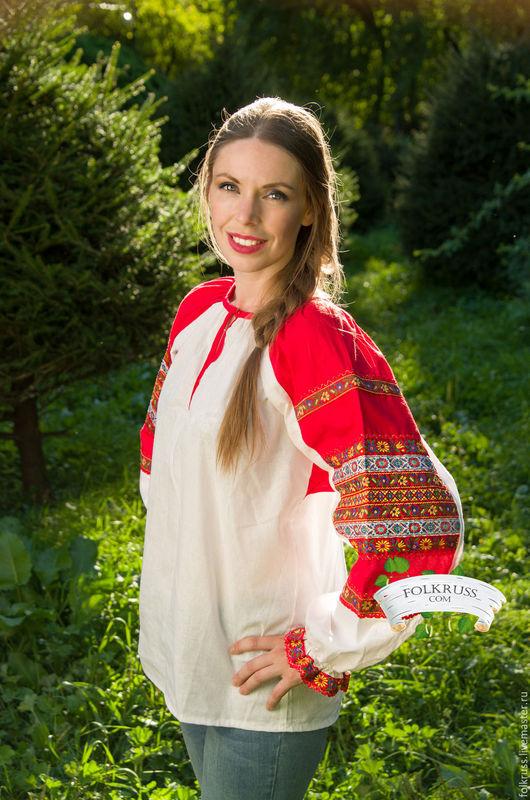 Блузка народная в москве