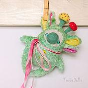 """Куклы и игрушки ручной работы. Ярмарка Мастеров - ручная работа Кроликоид """"Цветные грибы"""". Handmade."""