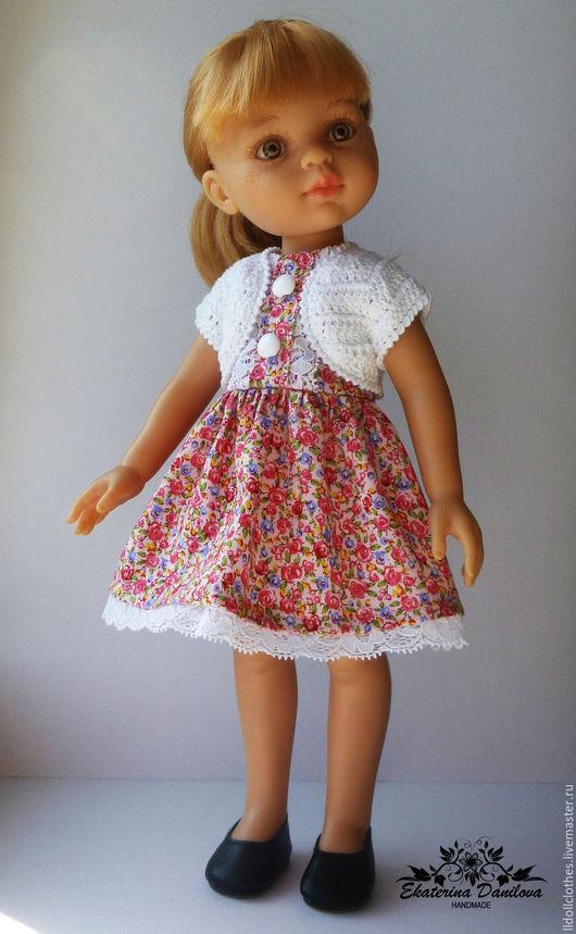Одежда для кукол ручной работы. Ярмарка Мастеров - ручная работа. Купить Комплект для куклы Paola Reina. Handmade. Комбинированный