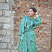 """Одежда ручной работы. Ярмарка Мастеров - ручная работа Халат-кимоно """"Япония"""".  Скидка ЧП!. Handmade."""