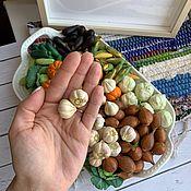 Игровые наборы ручной работы. Ярмарка Мастеров - ручная работа Чеснок из полимерной глины. Handmade.