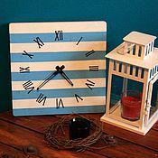 Для дома и интерьера ручной работы. Ярмарка Мастеров - ручная работа Деревянные Часы морские. Handmade.